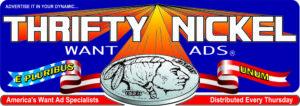 Thrifty Nickel Want Ads Logo