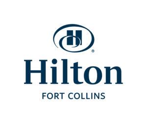 Hilton Logo Blue Text - 2015