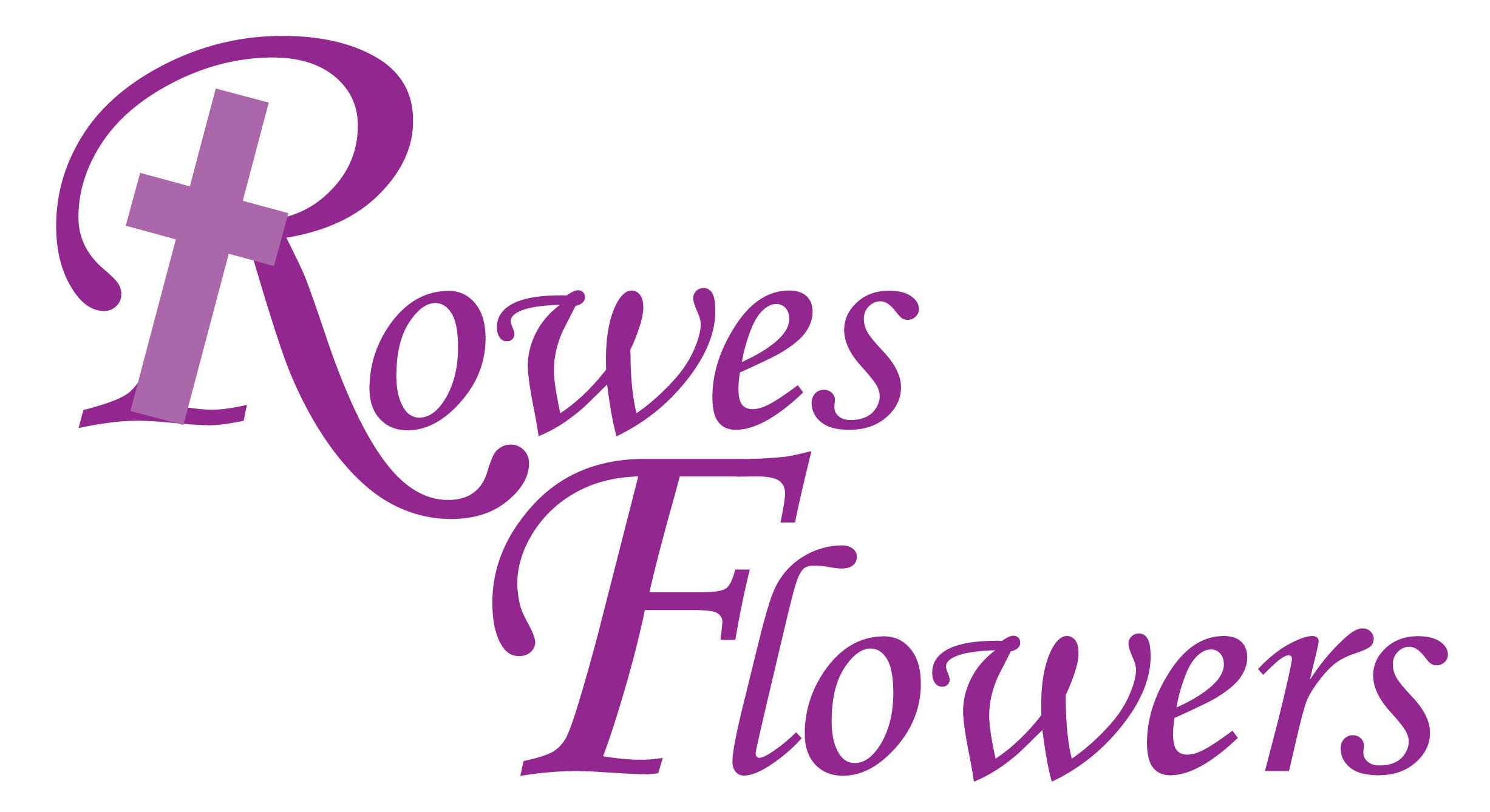 Rowes Flowers Logo Lge stack.c.indd
