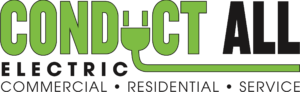 conduct all electric logo