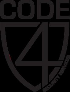 Black Code4SecurityServicesLogo