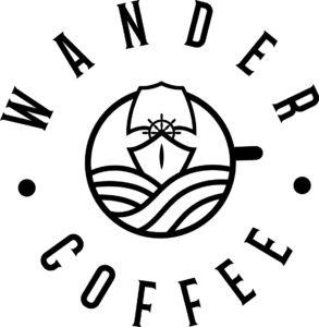 Wander Circle Logo Black