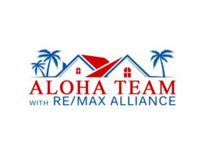 Aloha Team Logo, White (2)