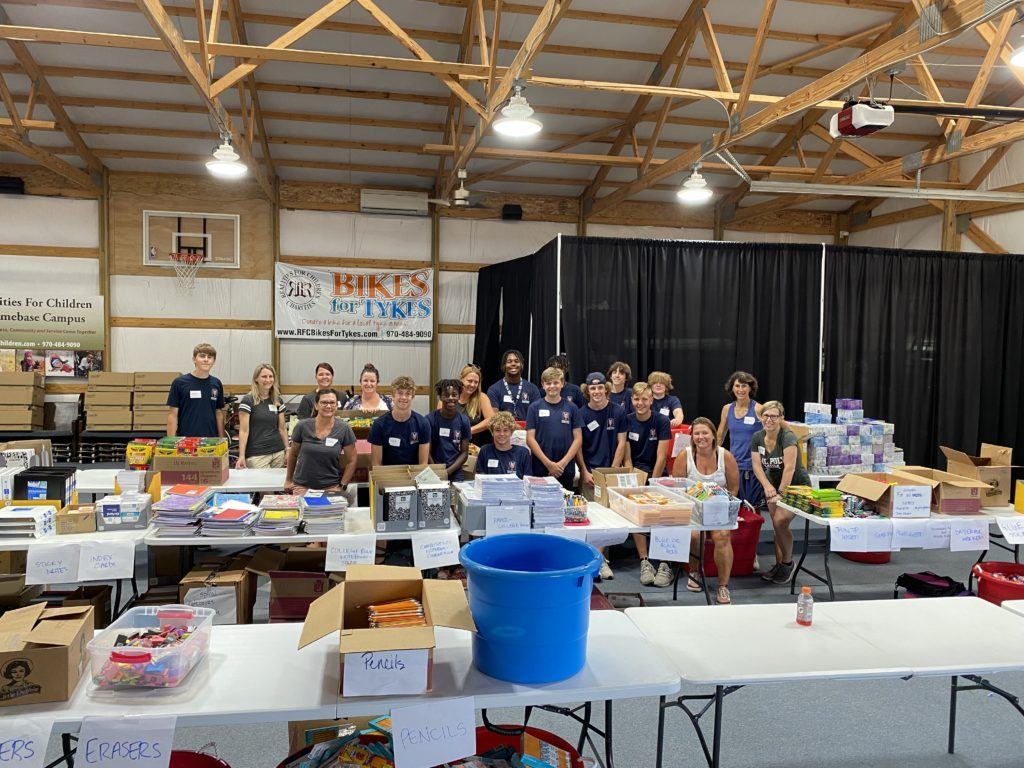 YSML Volunteers for Realities For Children Back to School Distribution