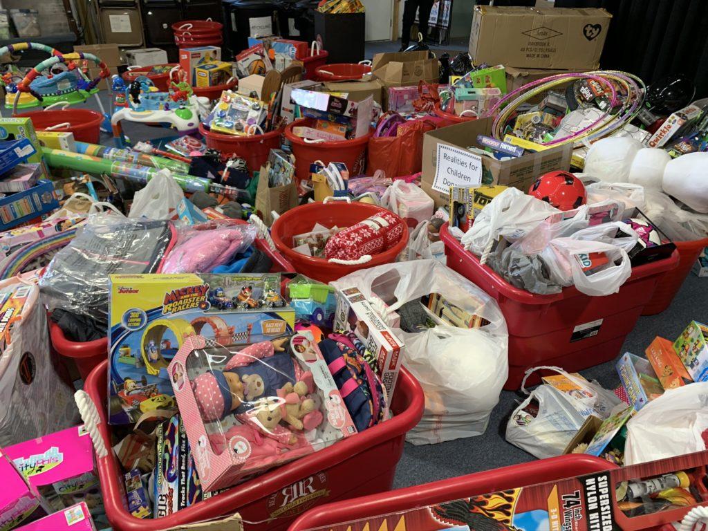 Realities For Children Santa's Workshop Red Bin Collection
